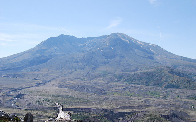 Trip, Day 1: Mount St. Helens and the International Rose Test Garden