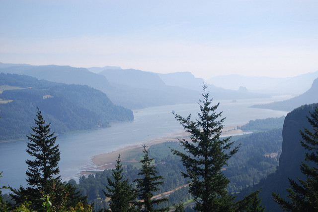 Trip, Day 2: Columbia River Gorge and Mount Hood Loop