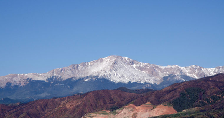 Colorado Vacation Part 1: Colorado Springs and Pikes Peak